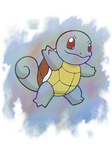 Watercolour Squirtle by Colossal