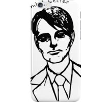 Hannibal Lecter Sketch iPhone Case/Skin