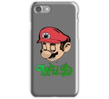 Mario Weed WiiD iPhone Case iPhone Case/Skin