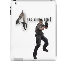 Resident Evil 4 Leon iPhone case iPad Case/Skin