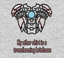 My Other Shirt is a Transforming Briefcase Unisex T-Shirt