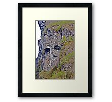 Troll of the Fjord Framed Print