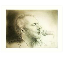 my B-day Colin portrait :) Art Print