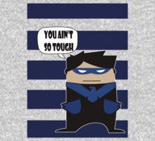 Gotham City Impostor NightWing One Piece - Long Sleeve