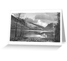 Lake Buttermere,Lake District Greeting Card