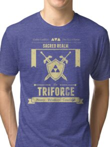Sacred Realm Triforce Tri-blend T-Shirt