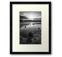 Sydney Parade Beach Framed Print