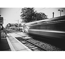 Sydney Parade Train Station Photographic Print