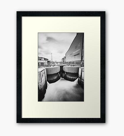 George's Dock, Dublin Docklands Framed Print