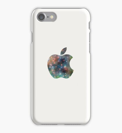 Apple - White. iPhone Case/Skin