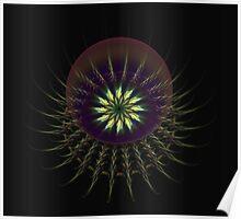 Flower Sphere Poster