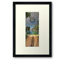 Shoes To Sky | Tropical Display Dome Framed Print