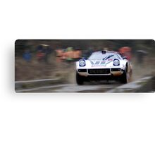 Lancia Stratos HF Rally Car Canvas Print