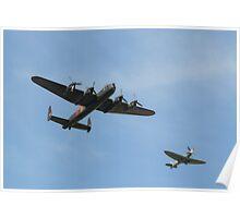 Fighter Escort Poster
