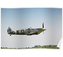 The Grace Spitfire ML407 Poster