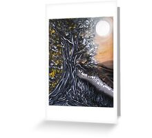 Tales of the twisted tree.. Greeting Card
