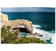 Arching Swell Poster
