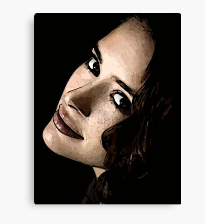 Face 19 Canvas Print