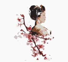 Geisha blossom by cheska