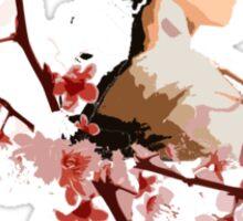 Geisha blossom Sticker