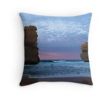 Ocean Pillars Throw Pillow