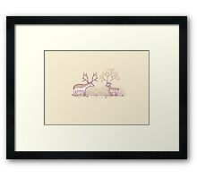 Growing up fast Framed Print