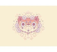Cat flower Photographic Print