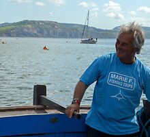Harry May Skipper Of The Marie F  -Lyme,Dorset.UK by lynn carter