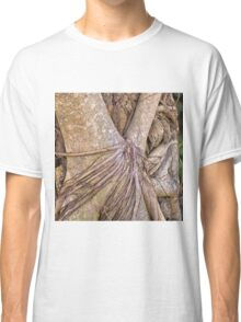 Strangler fig in the rainforest Classic T-Shirt