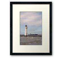 Back on the Rock Framed Print