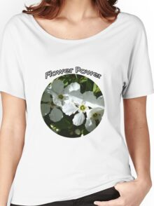 FLOWER POWER FOR THE BRIDE TO BE Women's Relaxed Fit T-Shirt