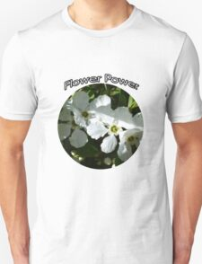 FLOWER POWER FOR THE BRIDE TO BE Unisex T-Shirt