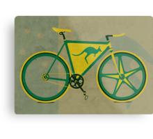 Australia Bike Metal Print