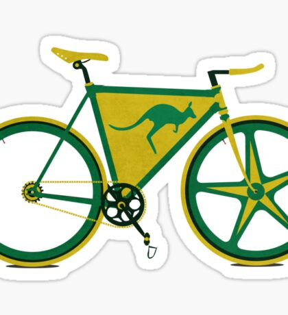 Australia Bike Sticker