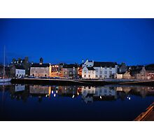 the night post office Photographic Print
