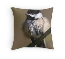 Poof! Throw Pillow