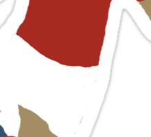 Arjen Robben Minimalist Design Champions League Winner Sticker