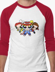 Krispie Puffs Men's Baseball ¾ T-Shirt