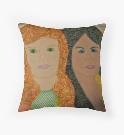 Diversity Throw Pillow