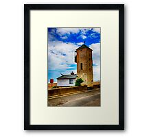 South Lookout Tower Aldeburgh Beach Framed Print
