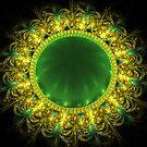 Emerald Pin by Sandy Keeton
