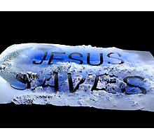 Jesus saves 3 Photographic Print