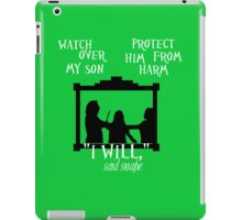 I Will {The Unbreakable Vow} 2 iPad Case/Skin