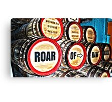Roar of Raw Noise (HDR) Canvas Print