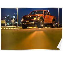 Ford Raptor 3 Poster