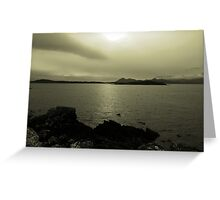 Across a Scottish Bay Greeting Card