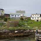 Peggy's Cove Homes by Heather Eeles