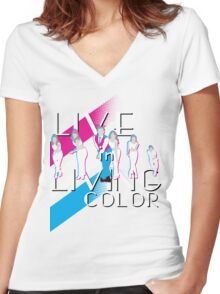 Let Me Take You For a Ride V1 Women's Fitted V-Neck T-Shirt