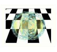 Tut60#6: Glowing Linoleum (G1323) Art Print