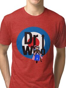 The Dr WHo Tri-blend T-Shirt